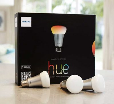 Philips Hue LED Lamps with Goldee App