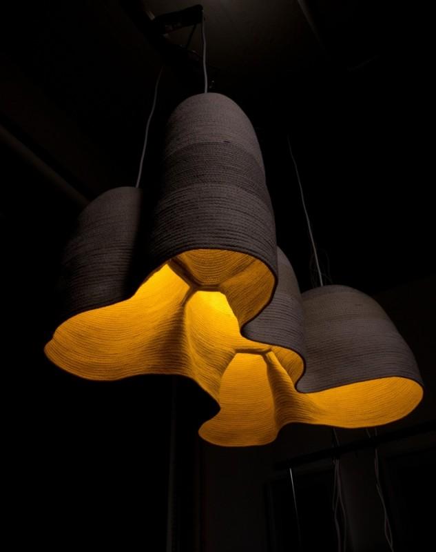 Warm Wood Pendant Lighting - wood-lamps, pendant-lighting