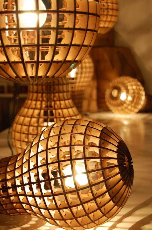 Wooden Bulb Pendant Lighting Pendant Lighting Wood Lamps