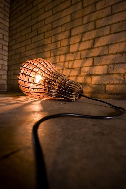 Wooden Bulb-2