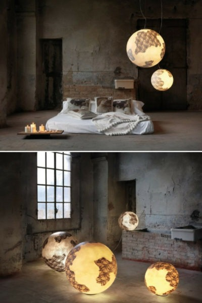 Earth Globe Pendant Lighting
