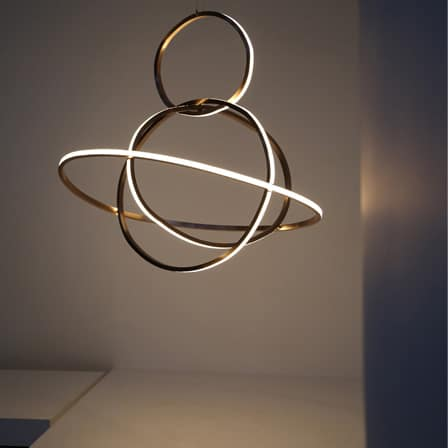 Apoapsis Modern Pendant Lighting - restaurant-bar, pendant-lighting