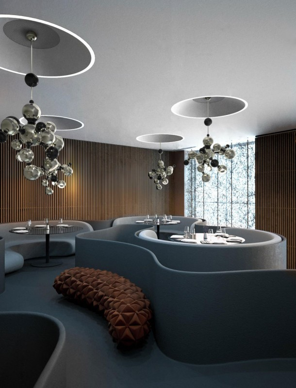 Atomic Design Pendant Lighting - chandeliers