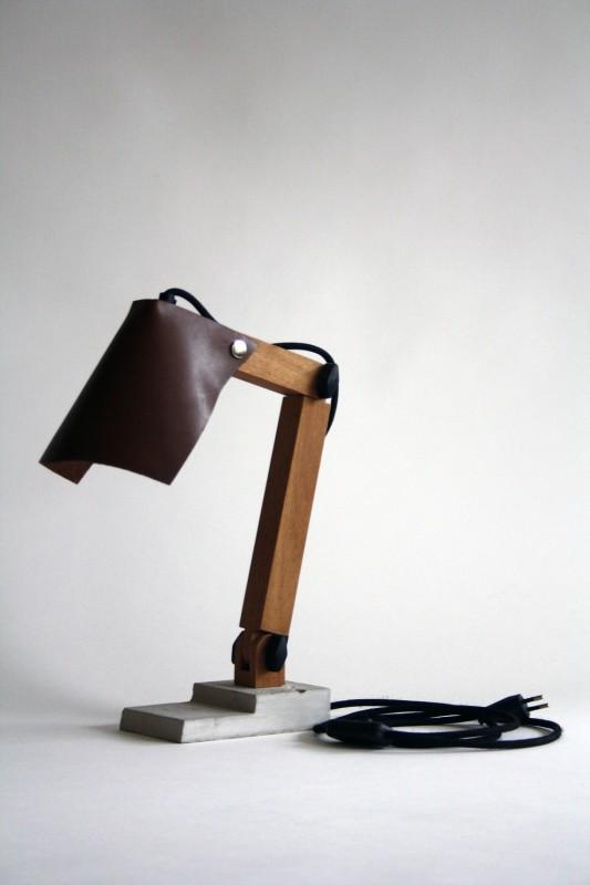 BigFoot Wood Desk Lamp - wood-lamps, desk-lamps