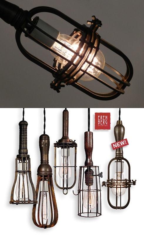 Pendant Metal Cage Light - pendant-lighting