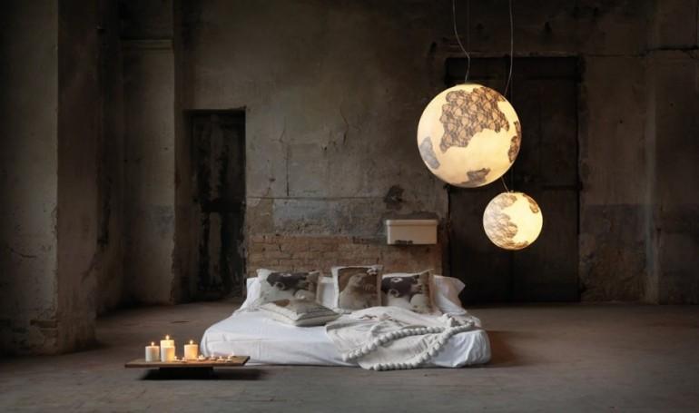 Earth Globe Suspension Lamp