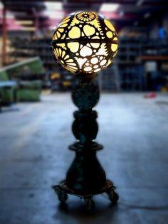 Globe Steampunk Table Lamp Id Lights