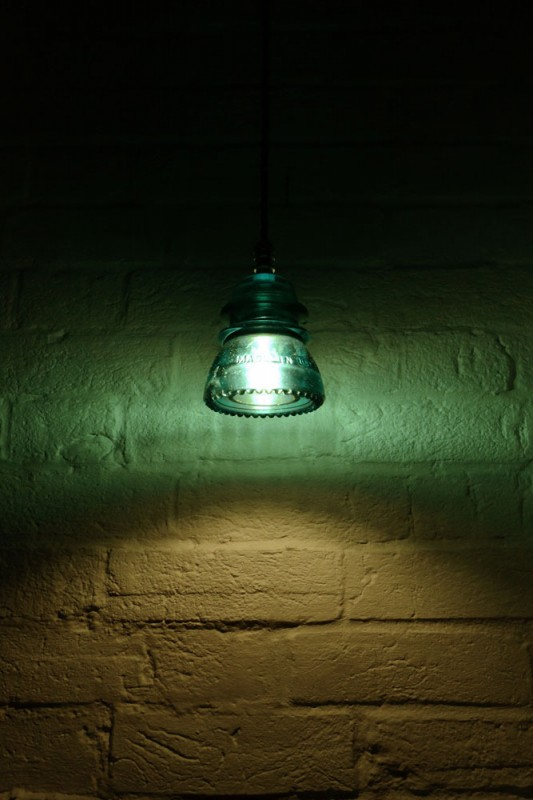 Hemingray 1950s Insulator Pendant Lighting Id Lights