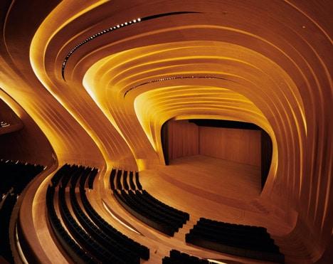 Heydar Aliyev Centre by Zaha Hadid - outdoor-lighting