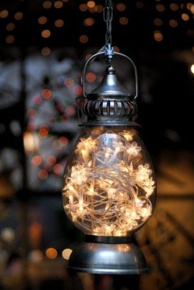 Lantern filled