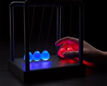 LED Light-up Newton's Cradle-1