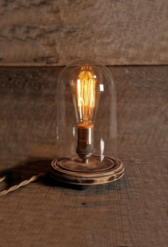 Light Dome Bedroom Table Lamp - table-lamps