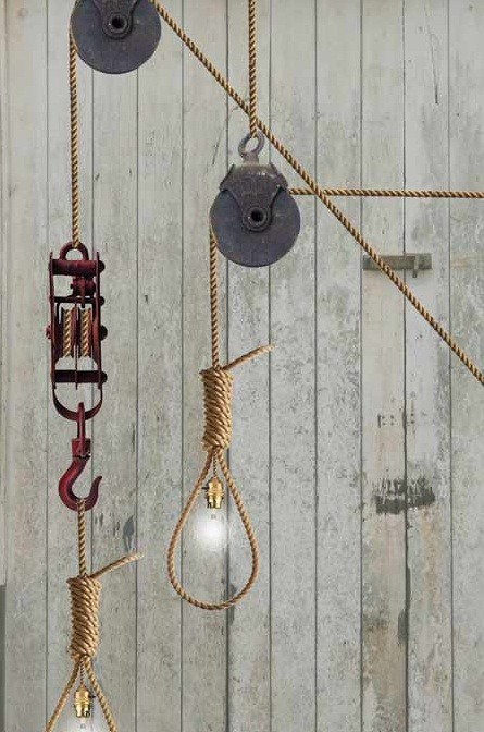 Rope Light Pendant Lighting - pendant-lighting