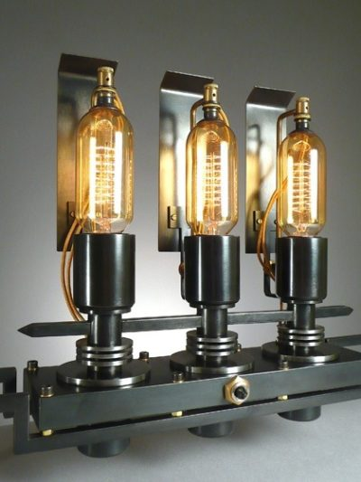 Steam punk 3 lights