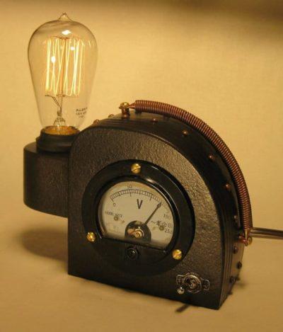 Steam Punk Edison Table Lamp