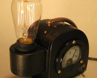 Steam Punk Edison Lamp