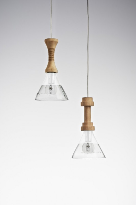 Torcia Pendant Lighting - wood-lamps, pendant-lighting