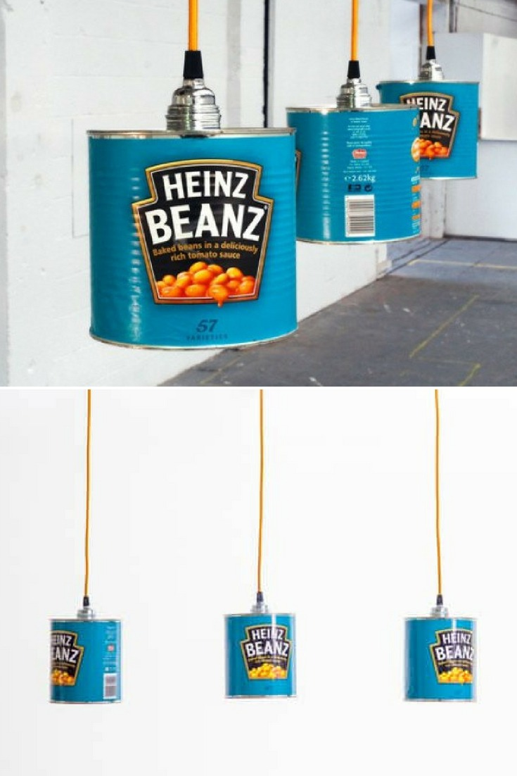 HEINZ Beanz Can Pendant Lighting - restaurant-bar, pendant-lighting