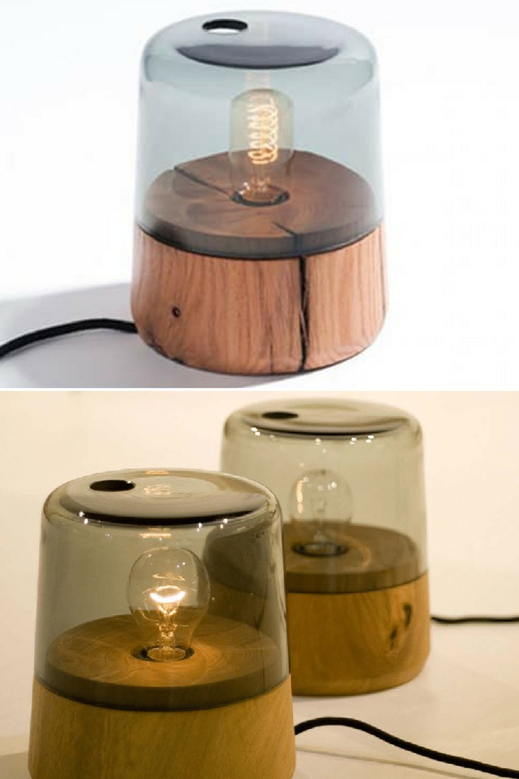 Marine-Inspired Oak Table Lamp - table-lamps