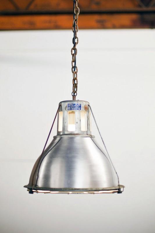 Antique Lobay Holophane 685 Pendant Lighting - pendant-lighting