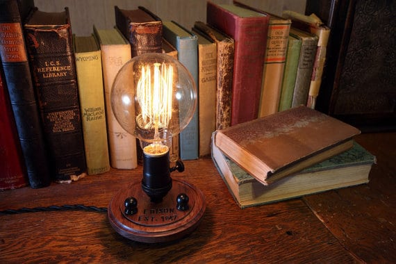 Edison Industrial Table Lamp - table-lamps