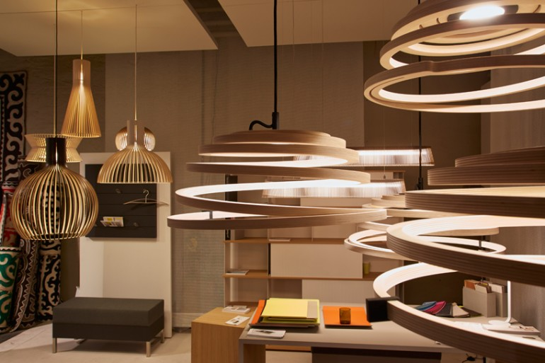 Pendant Lamps by Secto Design Pendant Lighting Wood Lamps