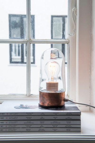 Small Copper Lamp