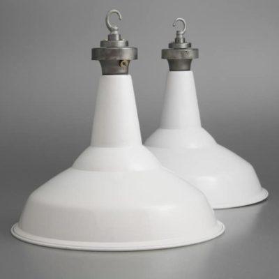 Vintage British Factory Lighting