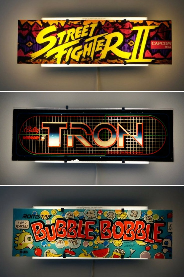 Arcade Video Game Wall Sconce - wall-lights-sconces
