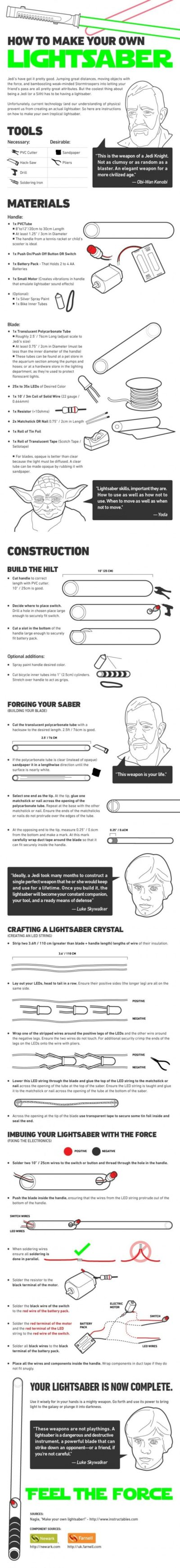 Build a Lightsaber