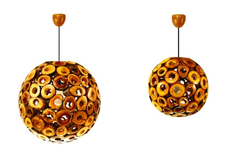 Eden Wooden Pendant Lighting - wood-lamps, pendant-lighting
