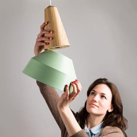 Eikon Lamp Wood Pendant Lighting - wood-lamps, pendant-lighting