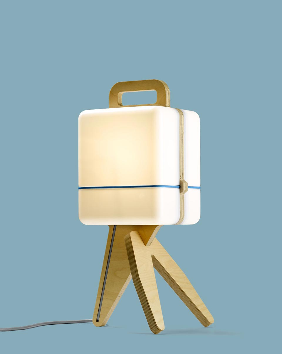 Henk Wood Table Lamp - wood-lamps, table-lamps