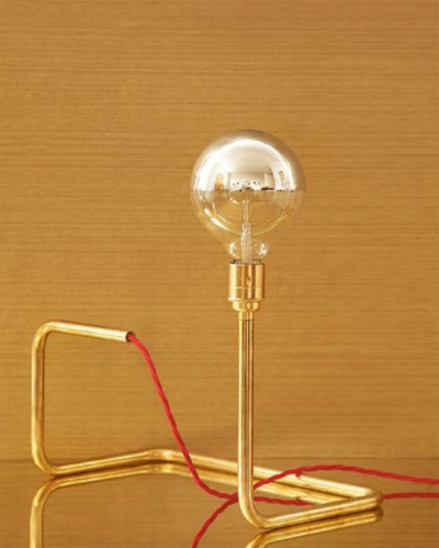 Delicate table lamp