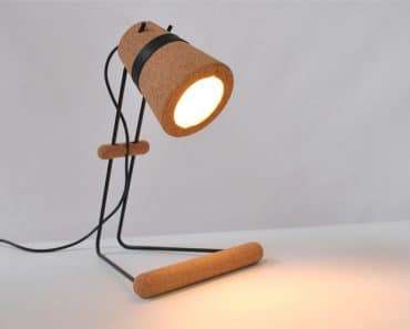 Timber Desk Lamp: Kurk Modern Desk Lamp,Lighting