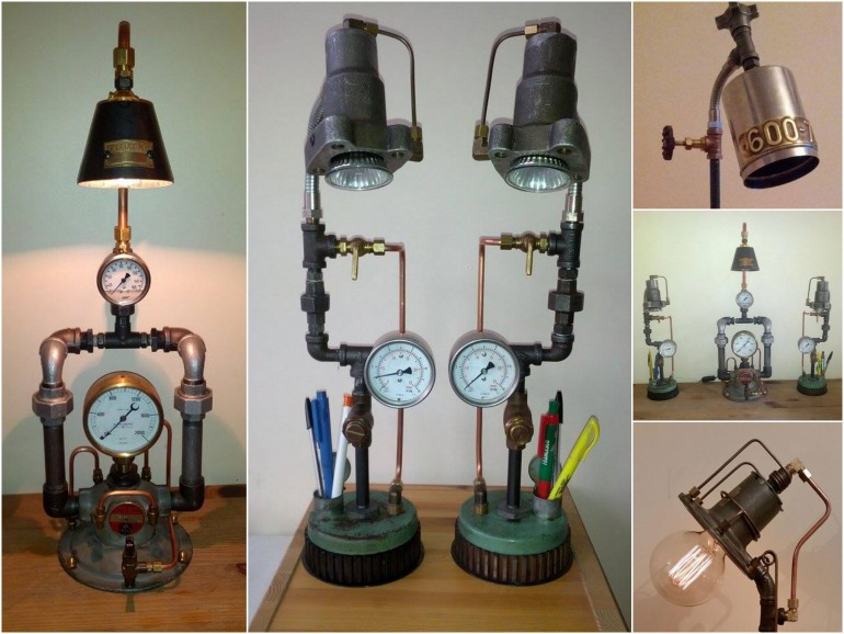 upcycled_clock_lamp