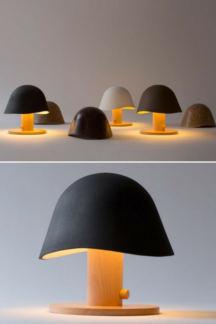 Bedside Mushroom Head Lamps - table-lamps