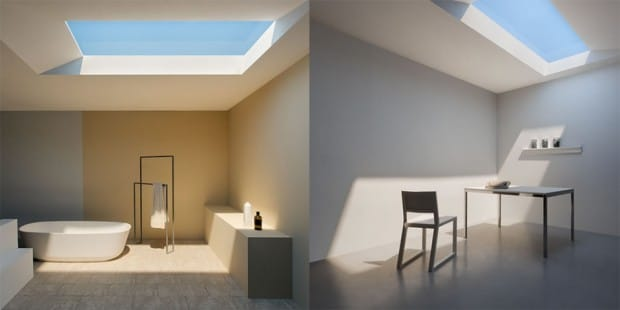 Indoor Light Looks Exactly Like Daylight - flush-mount-lighting