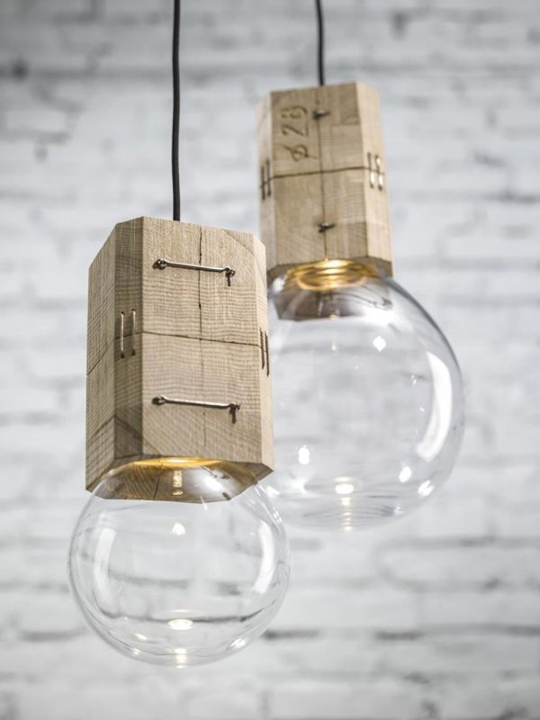 Moulds - Old Wood Oak Pendant Molds - pendant-lighting