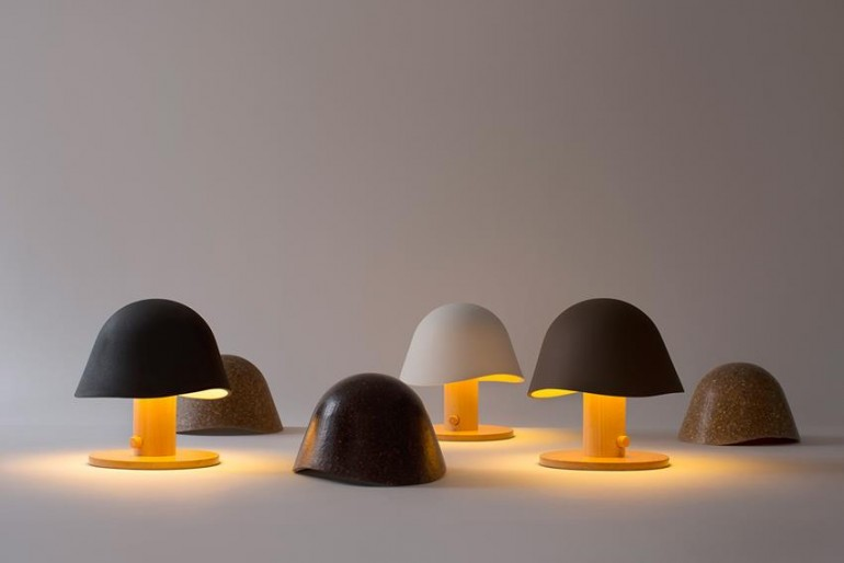 Bedside Mushroom Head Lamps - table-lamps