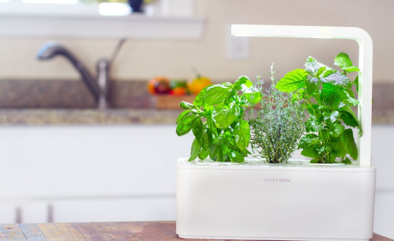 Smart Herb Garden Kitchen Table Lamp - table-lamps