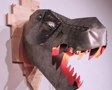 T-Rex Metal Lamp