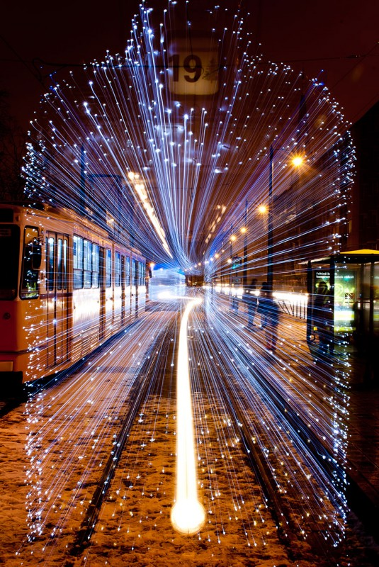 City's tram Led Outdoor Lighting Outdoor Lighting