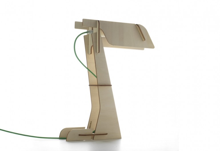 Zeta Wood DIY LED Desk Lamp - wood-lamps, desk-lamps