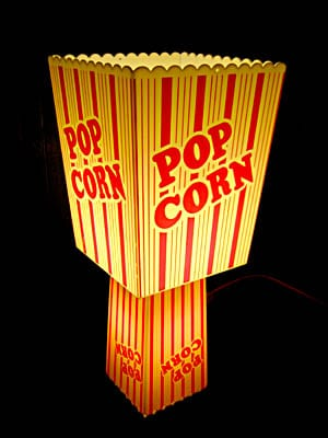 Popcorn Table Lamp - table-lamps