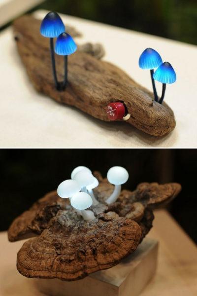 Cute Mushroom Lamp