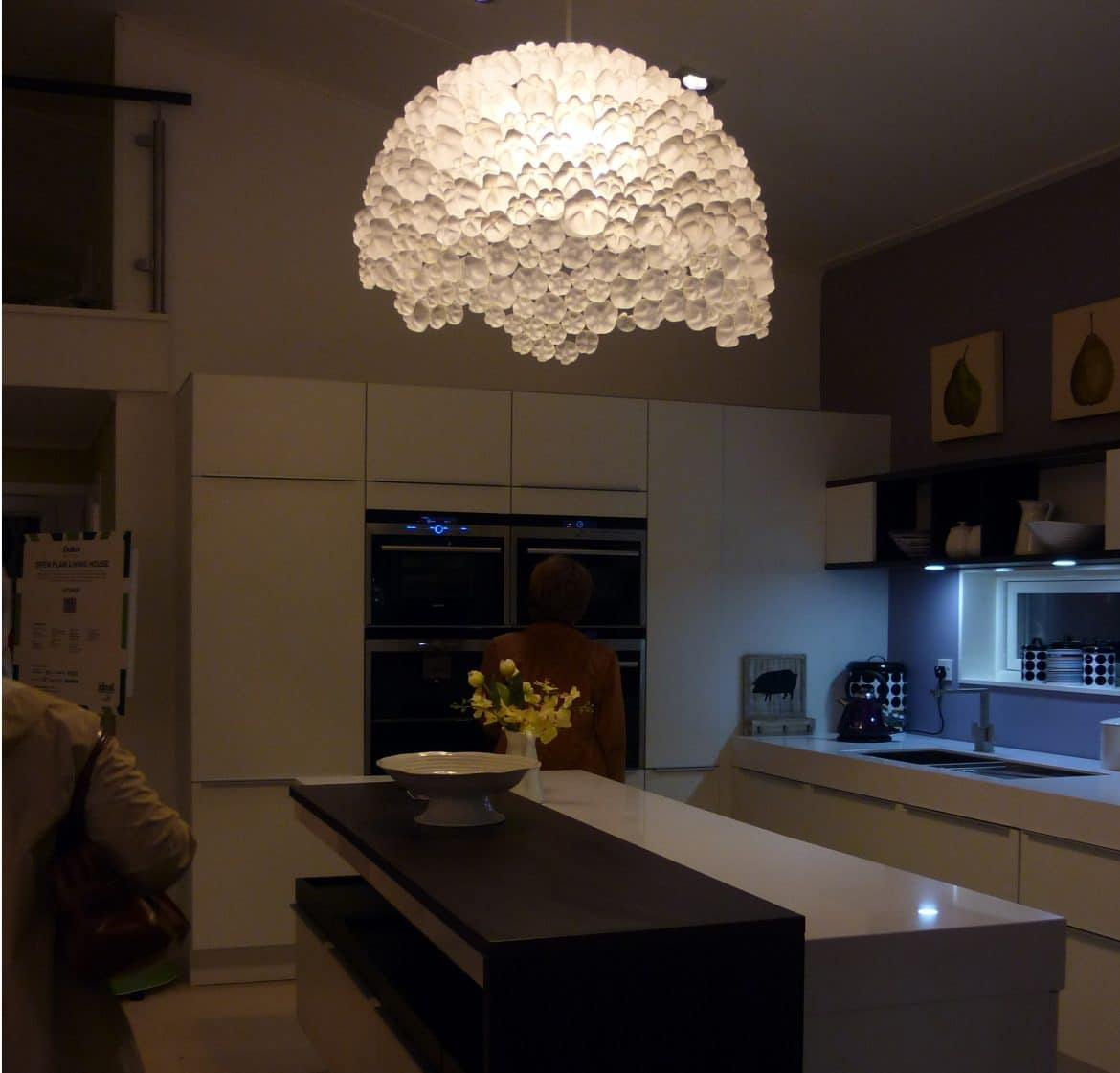 Recycled Bottles Chandelier Id Lights