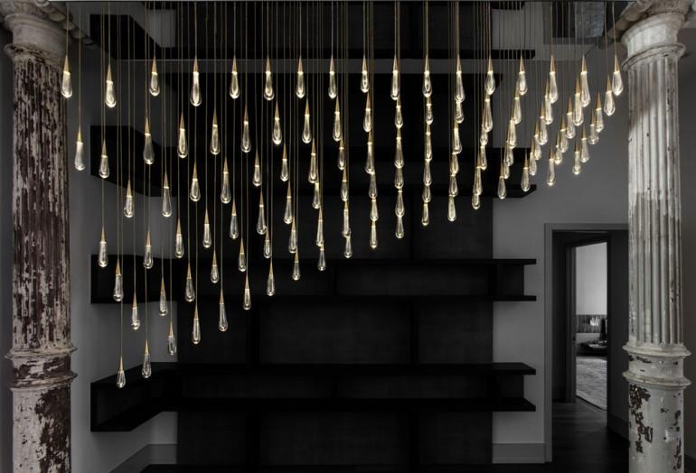 Raindrop chandelier Chandeliers