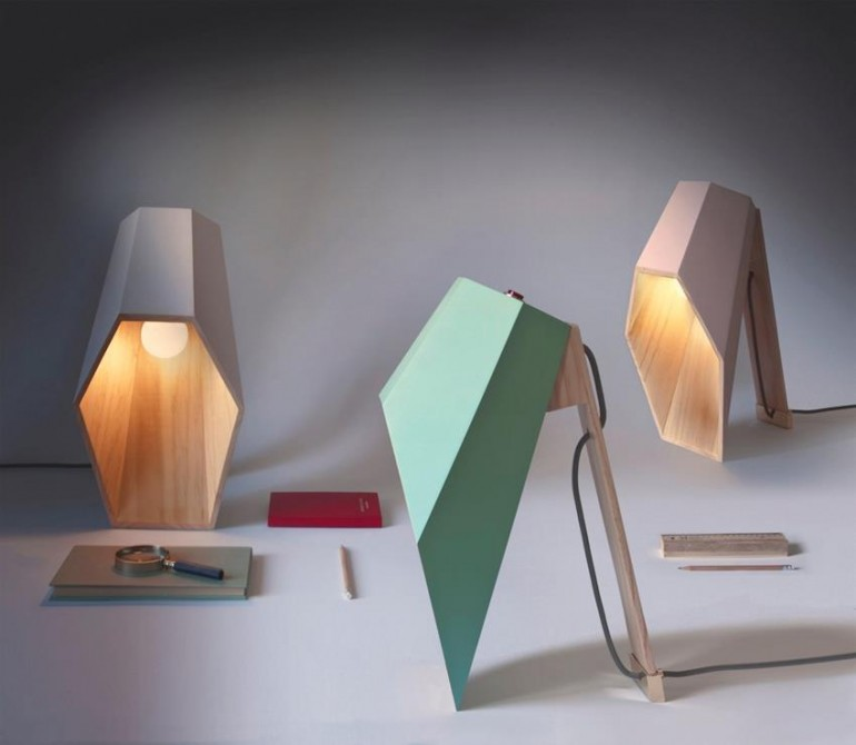 Woodspot Table Lamp - wood-lamps, desk-lamps