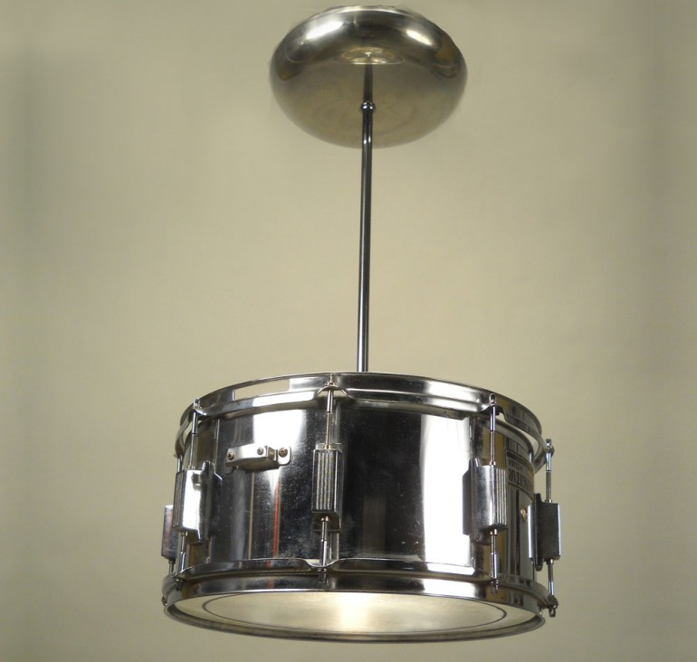 Snare Drum Pendant Lighting - pendant-lighting